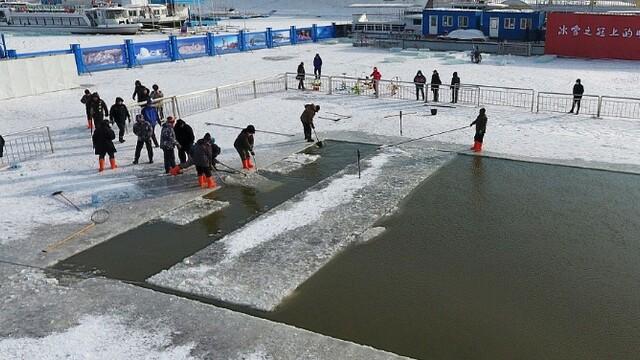 冬泳池是这样建成的