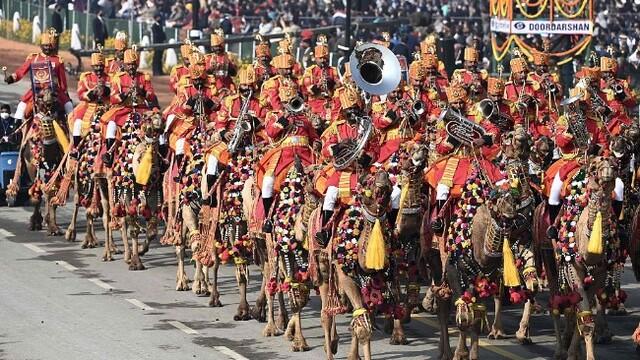 印度举行阅兵仪式