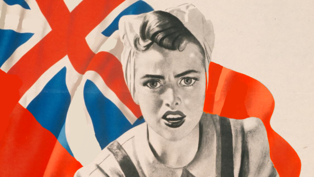 第二次世界大戰中的英國宣傳海報