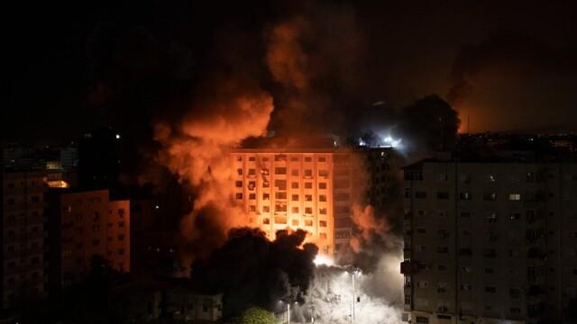 巴以冲突战火升级 造成两国共30余人死亡