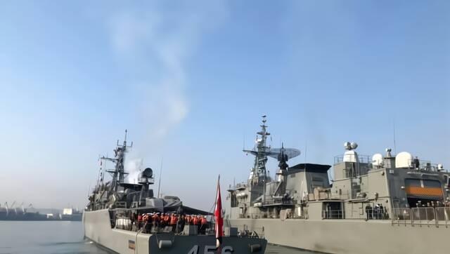 泰国两艘中国造护卫舰结束访俄 下一站或回娘家