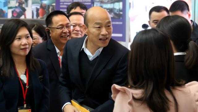 韩国瑜开启深圳访问行程