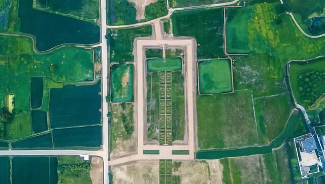 航拍中国第55处世界遗产 良渚古城遗址