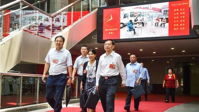 北京市第十二次党代会现场