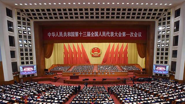 全国人大会议开幕 李克强作政府工作报告