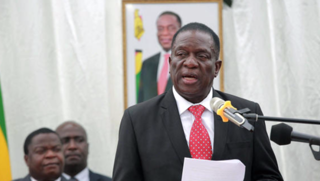 """津巴布韦新内阁宣誓就职""""老面孔""""众多"""