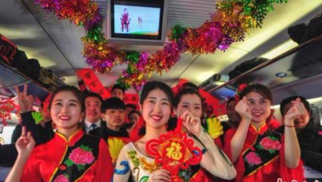 """沈阳客运段高铁列车上的""""春晚"""""""
