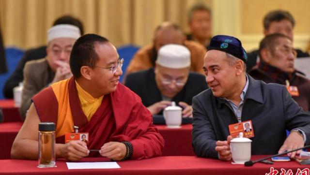 直击:全国政协宗教界小组会议