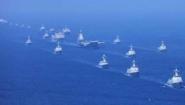 最强舰队南海受阅 其后参加台海军演