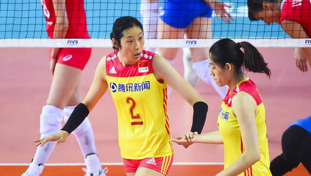 朱婷13分 女排3-0轻取俄罗斯