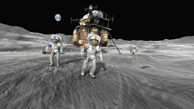 NASA:四名宇航员将重返月球 并停留7天
