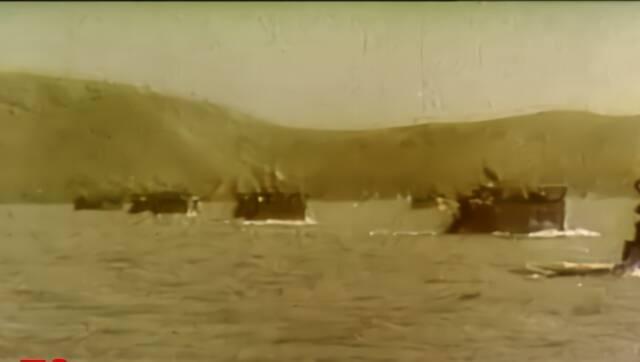 大国海军!2分钟回顾中国海军70年高燃成长史