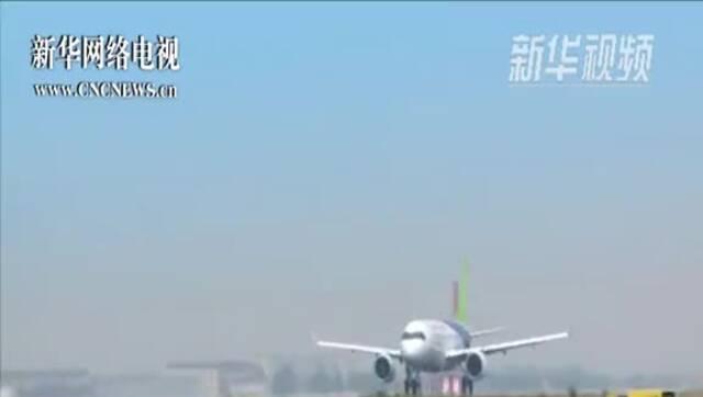 国产大型客机C919将于5月5日首飞