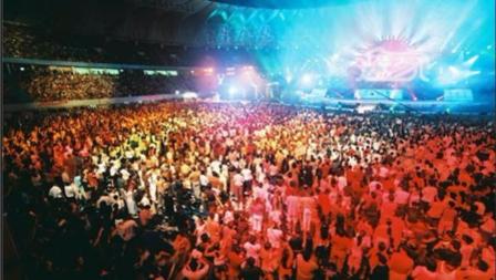 震撼!提前领略青岛国际啤酒节光影盛宴!