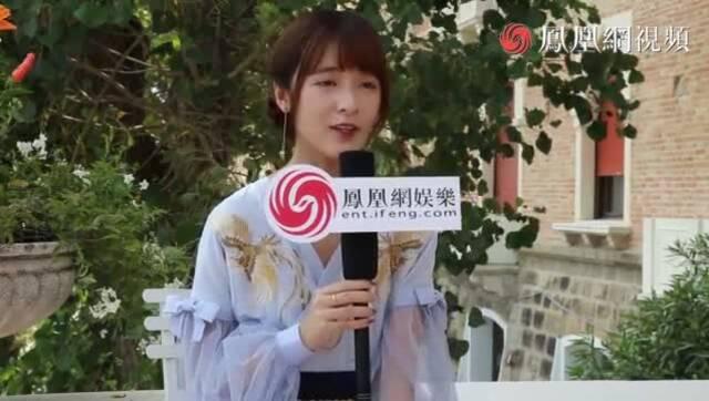 """视频:威尼斯专访星女郎徐娇:被问恋情反问""""你猜"""""""