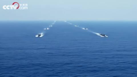 海军五大兵种跟我看  水面舰艇部队帅气亮相