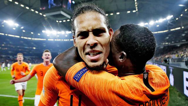 欧国联-连追2球!荷兰逼德国进4强