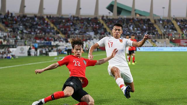 焦点大战!国足0-2韩国 小组第2出线
