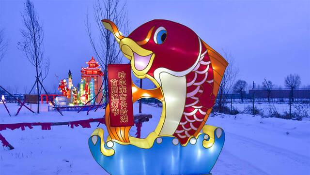 长岭湖渔灯节