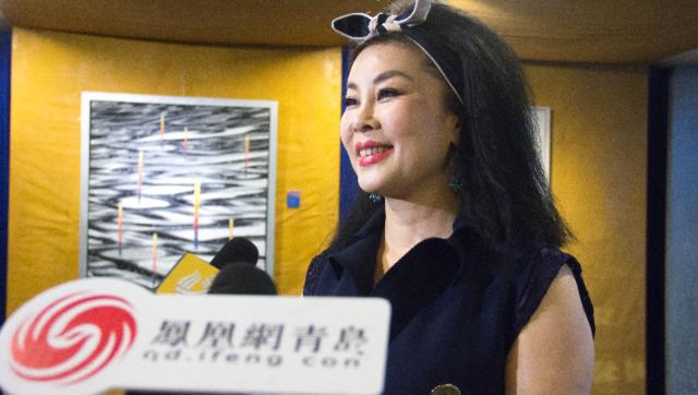 慈爱诺品牌首席设计师周明蓉接受凤凰网青岛采访
