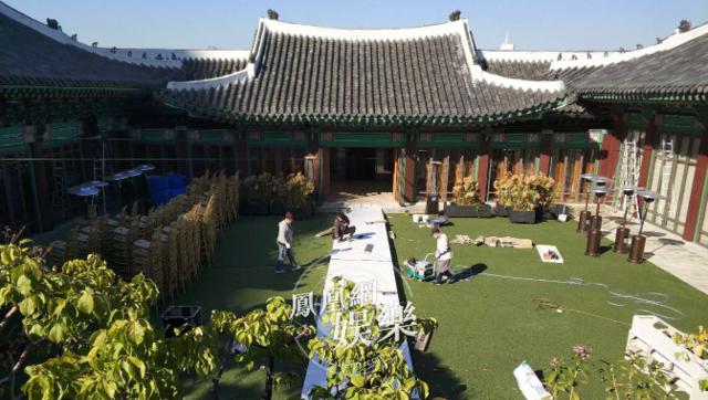 """""""双宋""""婚礼布置现场首曝光"""