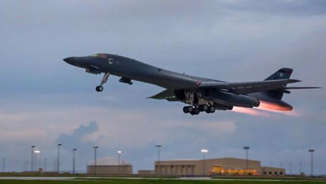 参加美韩联合空中军演的主要战机