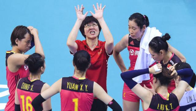 女排联赛总决赛-中国0-3巴西