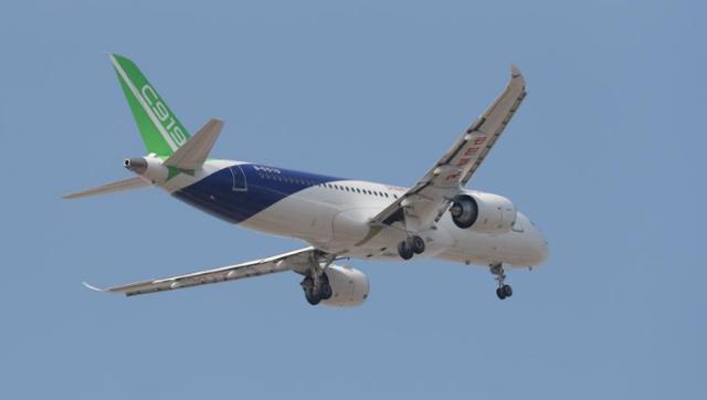 C919国产大客机103架机首飞成功