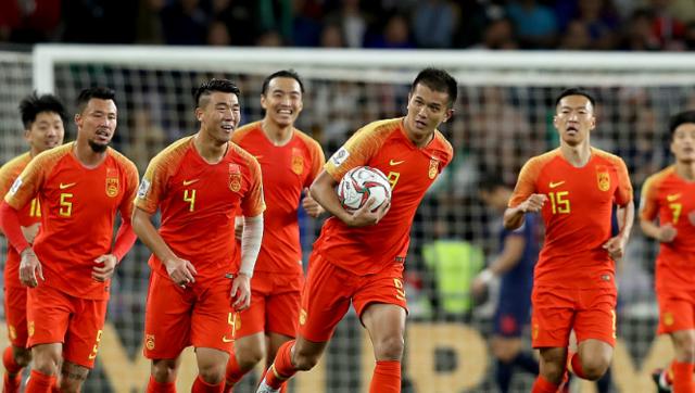 亚洲杯-国足2-1逆转泰国 挺进8强