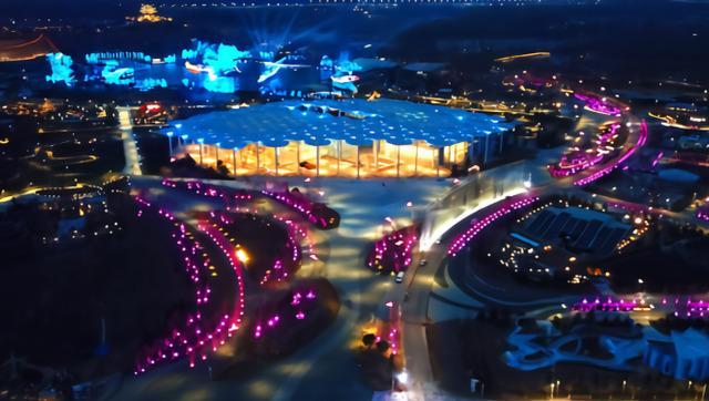 """北京:世园会""""夜景模式""""调试"""