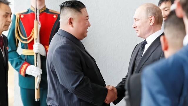 现场|金正恩与普京会面