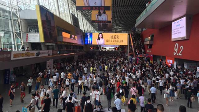 第十九届中国建博会(广州)盛大开幕