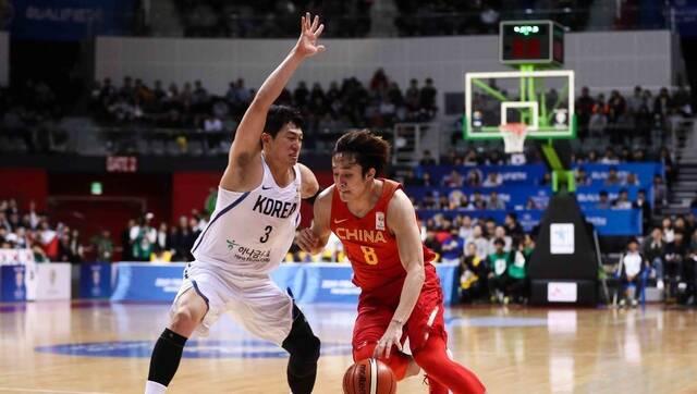 世预赛-中国男篮战胜韩国 小丁30分