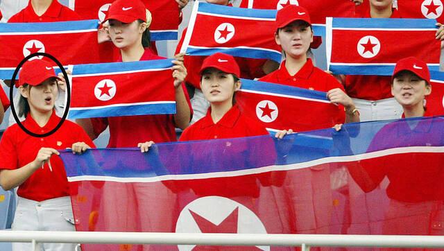 朝鲜拉拉队颜值秒杀女团