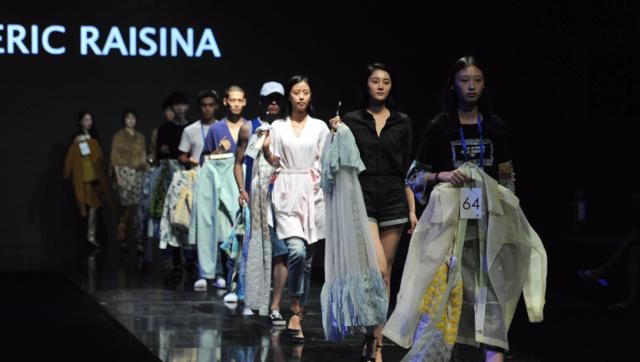 时尚市南范 超模助阵2017青岛国际时装周大秀