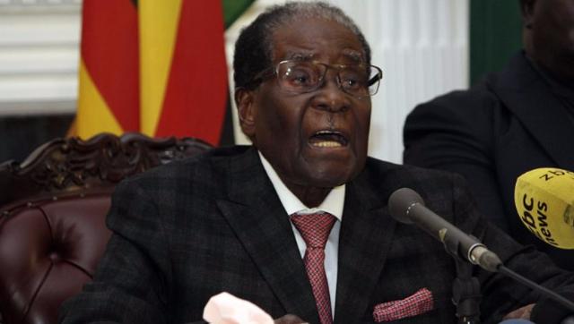 电视讲话20分钟 穆加贝只字未提辞去总统