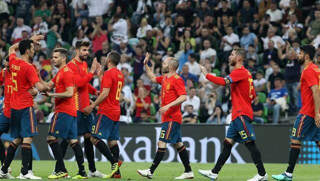 热身-科斯塔助攻锋霸 西班牙1-0突尼斯
