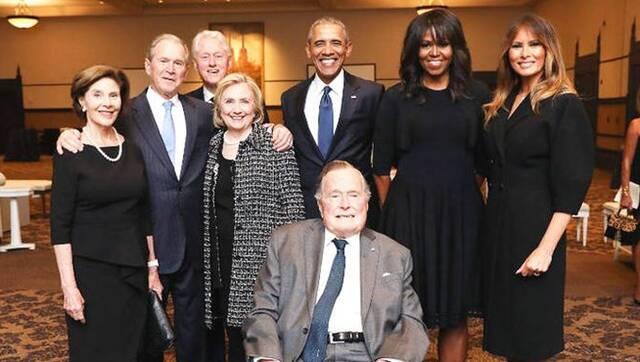 七个月前,老布什送别相伴73年妻子