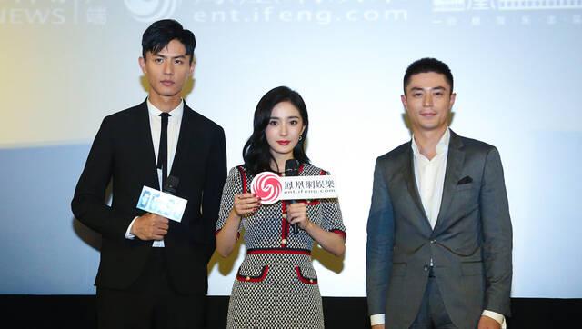 凤凰公映礼:杨幂自曝掐霍建华到手抽筋