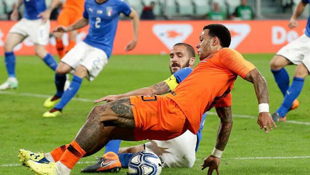 热身赛-扎扎建功 10人意大利1-1荷兰