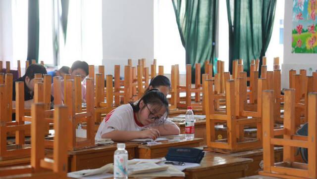 安徽毛坦厂:高考前的最后冲刺