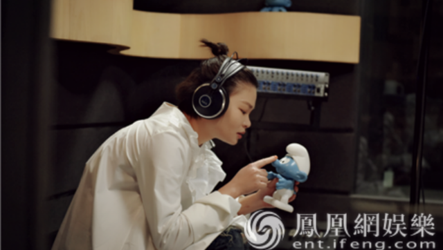 苏运莹演唱主题曲《蓝孩子》