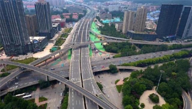 济南三大高架路即将通车 能看出是哪吗