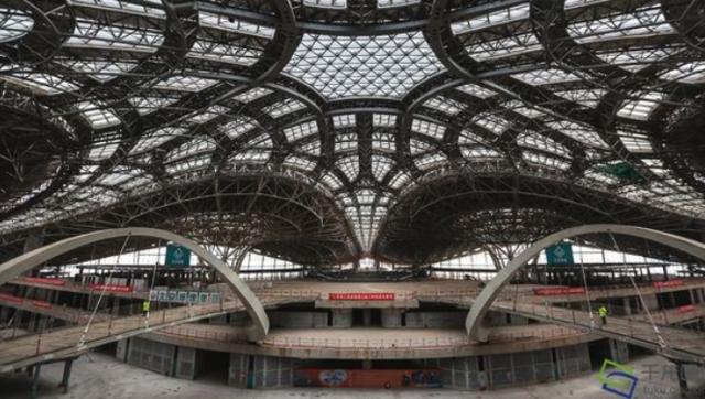 北京新机场凤凰展翼
