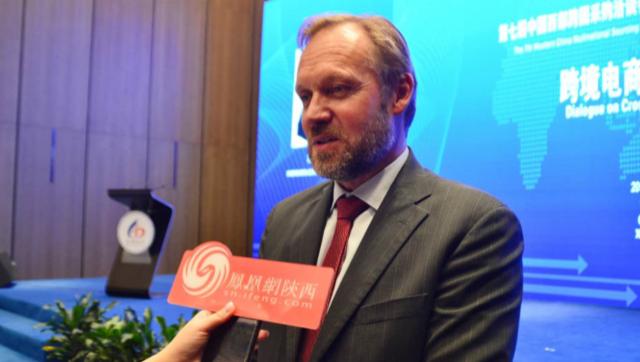 联合国全球市场(CUNGM)主任尼尔斯接受凤凰网陕西专访