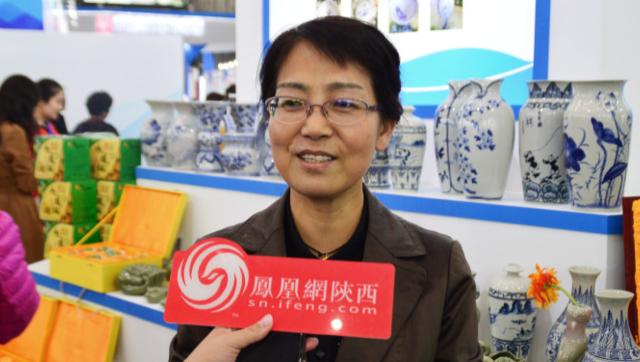 铜川市贸促会会长吴金香接受凤凰网陕西专访