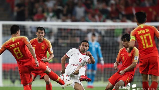 亚洲杯-国足0-3不敌伊朗 遗憾出局