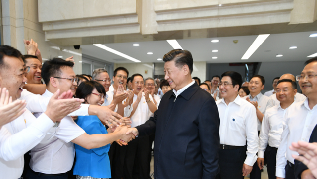 习近平:团结一心开创富民兴陇新局面