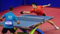 厉害了!中国乒乓球队夺军运会乒乓球项目诞生后的首枚金牌