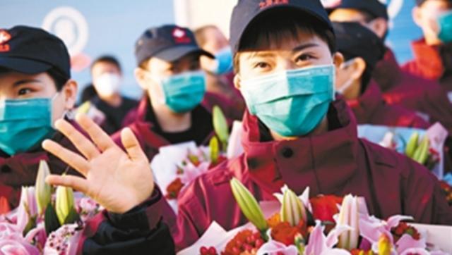 陕西援鄂医疗队首批43人回到西安